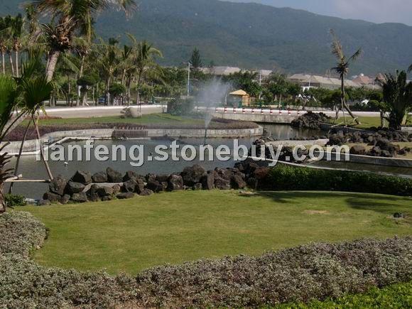 自然火山石工程(實景)