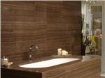 五星级酒店咖啡木纹工程