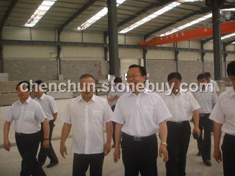 內蒙古黨委組織部李部長前來我公司視察和指導工作