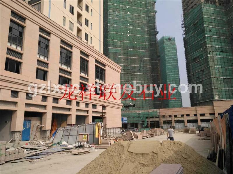 江西红石材工程图片