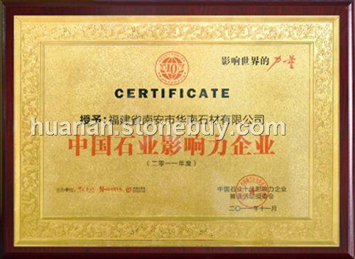 中国石业影响力企业
