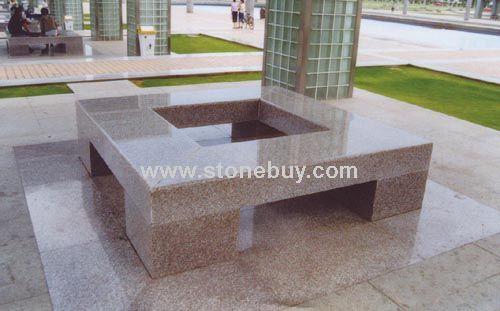日系小清新手绘桌椅