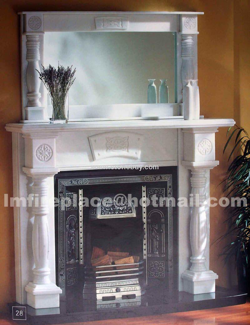 F-010(装饰壁炉Fireplace Mantel)