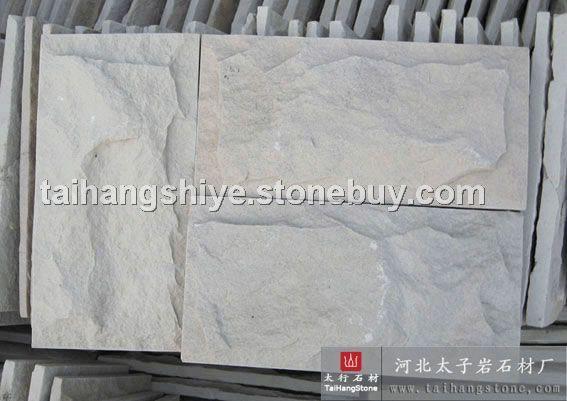 白砂岩蘑菇石