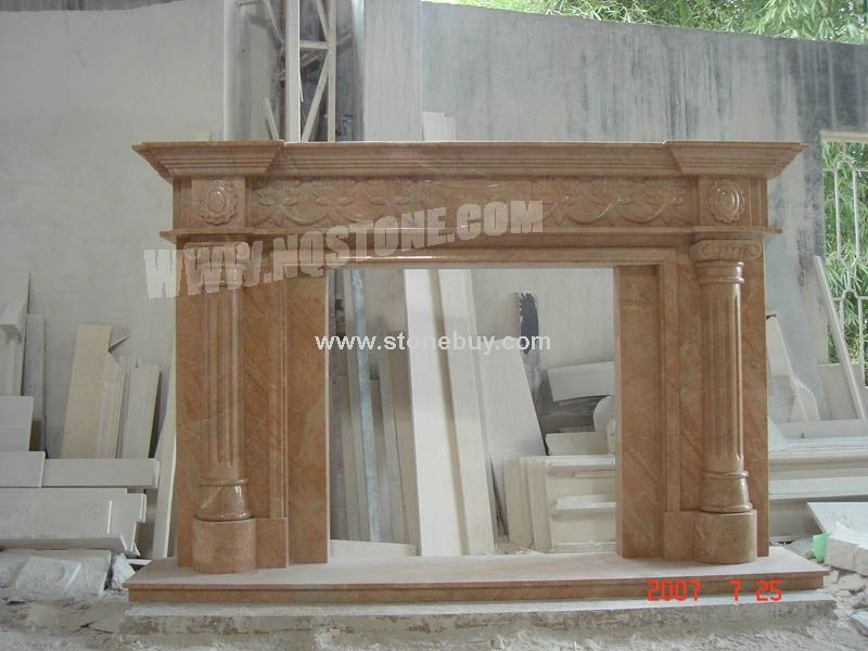 F-75(出口壁炉架Fireplace Mantel)