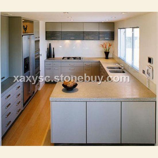 厨房台面-橱柜台面-大理石台面设计安装图片