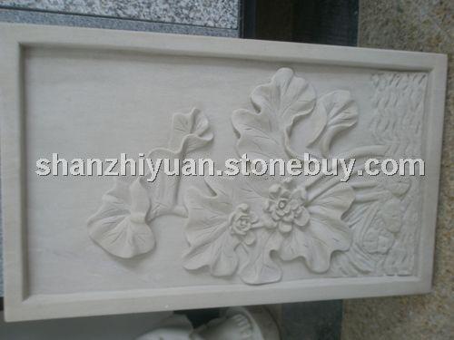 白砂岩浮雕图片 - 浮雕 - 湖南山之源石材有限公司