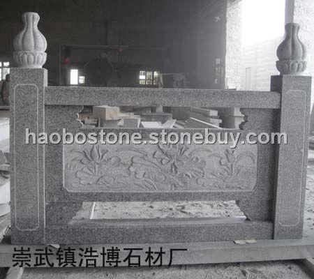 泉州白栏杆雕刻 园林雕刻 建筑材料
