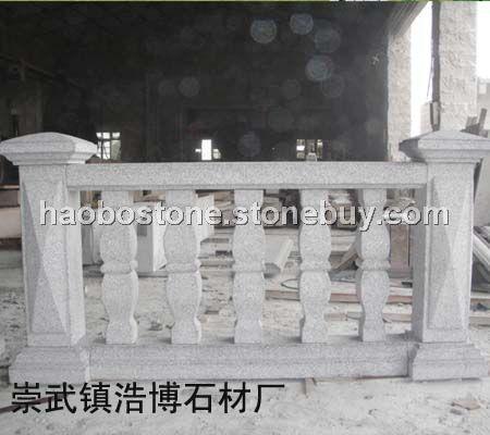 园林建筑雕刻 栏杆雕刻 泉州白栏杆 建筑材料 石雕