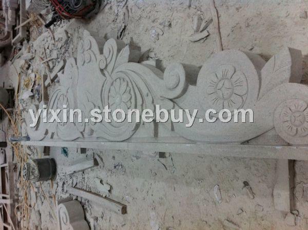石材浮雕雕刻别墅图片