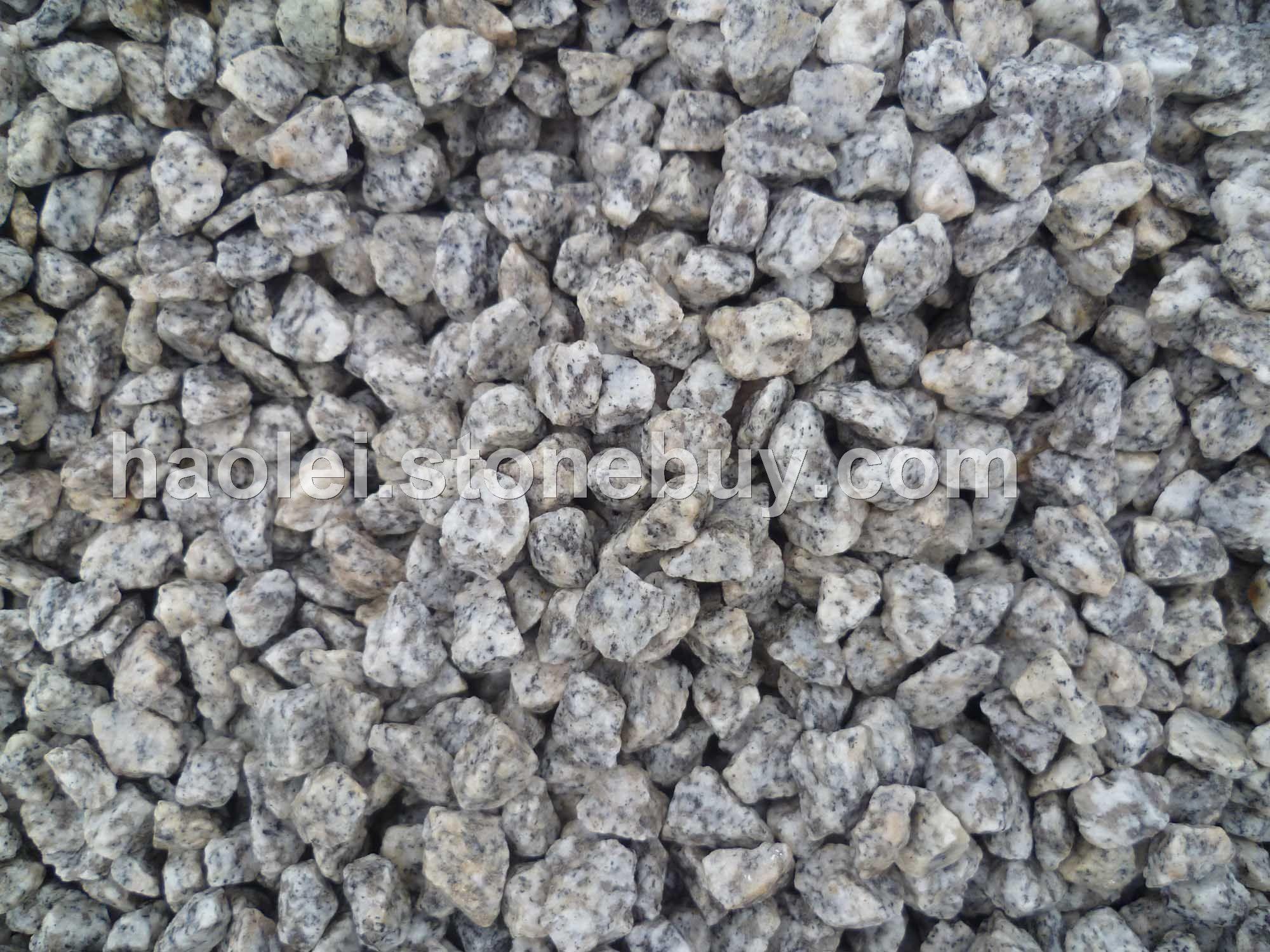 芝麻白鹅卵石