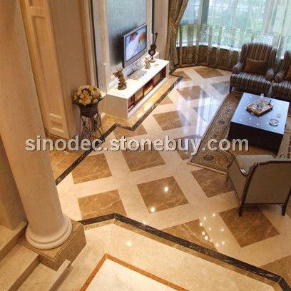 天然大理石地面 石材拼花地板 浅啡网大理石规格板走廊客厅餐厅地板