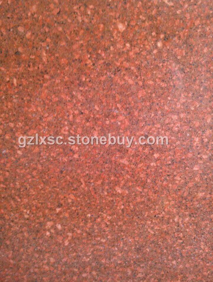 光泽红686花岗石高源红石材光板