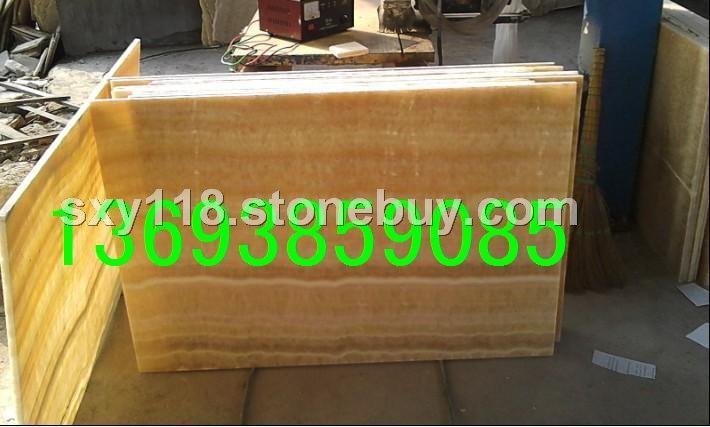 松香玉透光条板大板石材产地