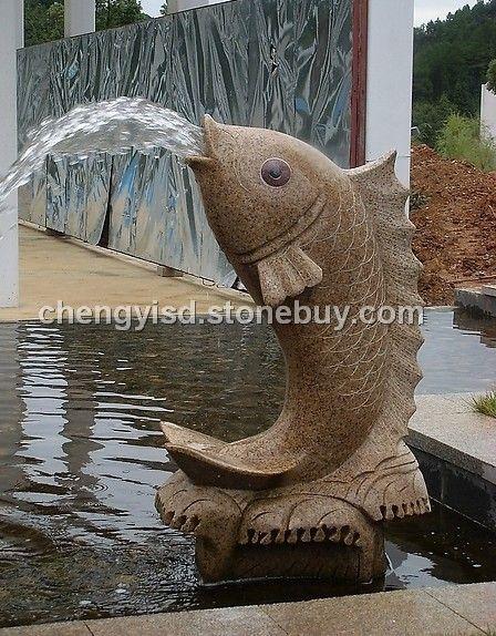 喷泉雕塑景观手绘