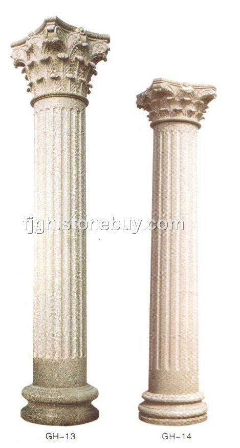 圆柱; 欧式罗马柱/大理石罗马柱/花岗岩圆柱;