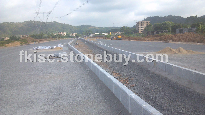 市政道路建设封开花路边石