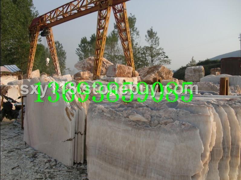 产地松香玉石材大板荒料