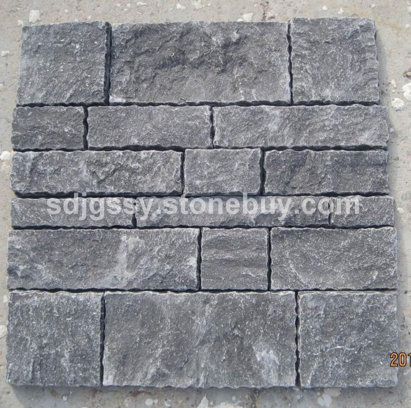 黑色石灰石自然仿古面文化石
