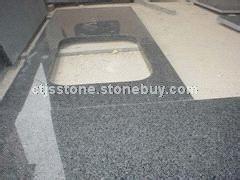 芝麻黑石材台面板