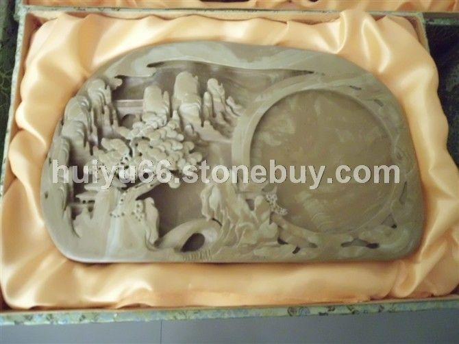 石材工艺品易水古砚茶海