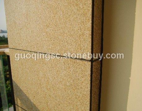 黄金麻干挂板 芝麻黑花岗岩 G655芝麻灰花岗岩 G641乔治亚灰 芝麻白G603石材 黄锈石G68