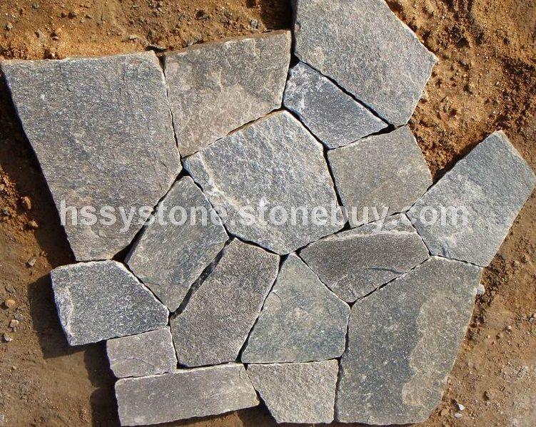 墻石地鋪石粉石英亂形