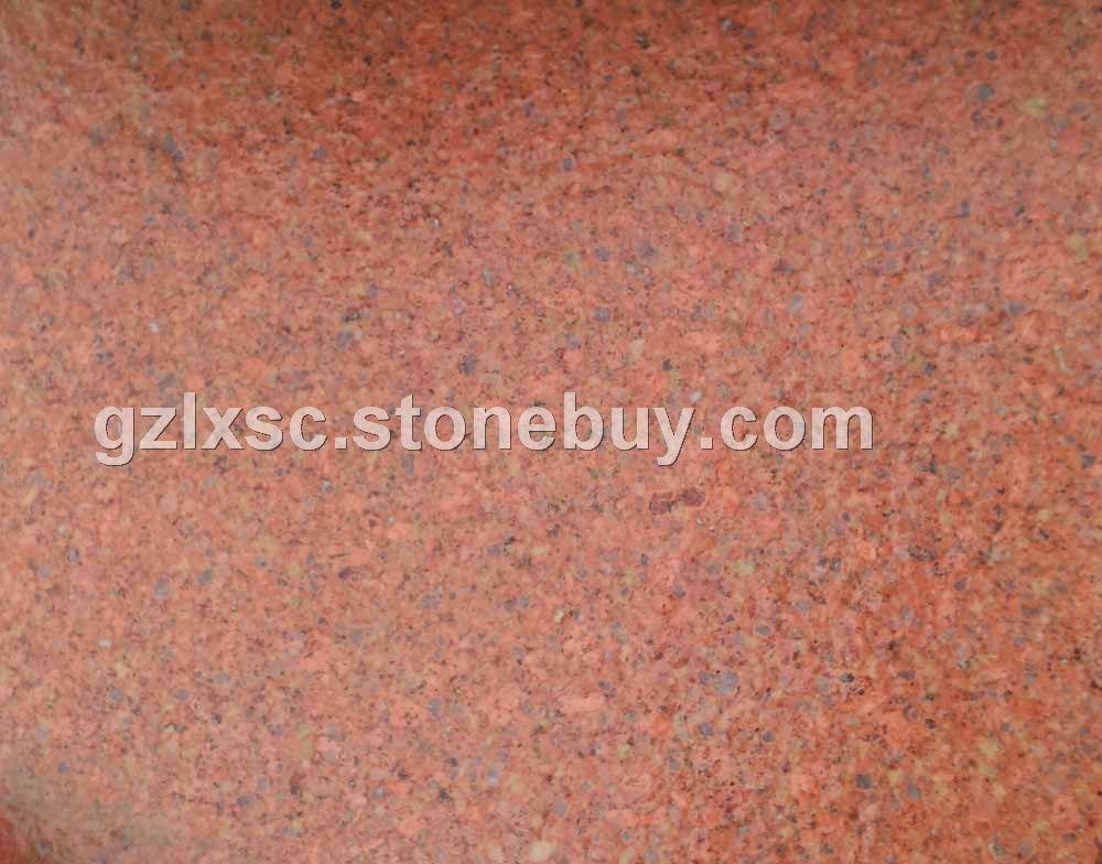 光泽红贵妃红石材帝王红四季红花岗岩光板石材