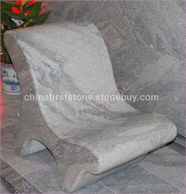 花岗岩园林石椅GCF510