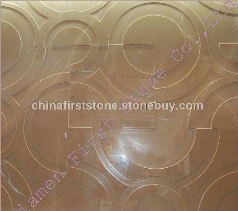黄金米黄雕花板FSMP-096