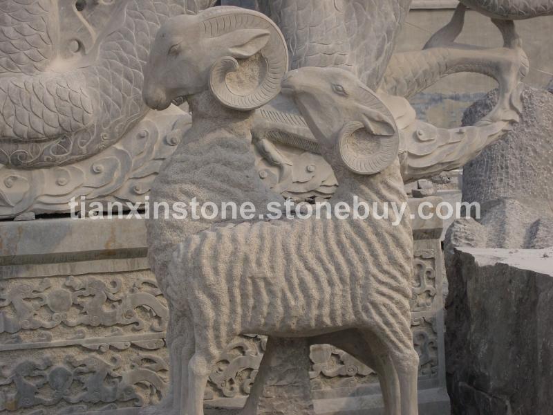 石雕羚羊图片, 石雕羚羊产品图片 - 石雕动物相册