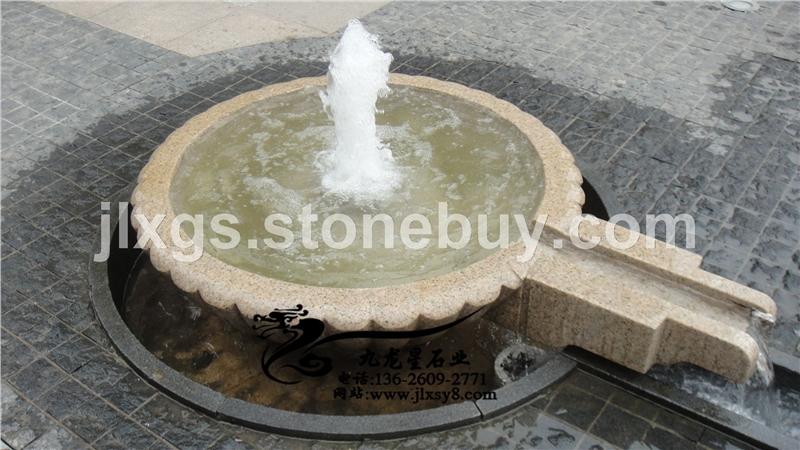 小刘水钵 喷泉水景
