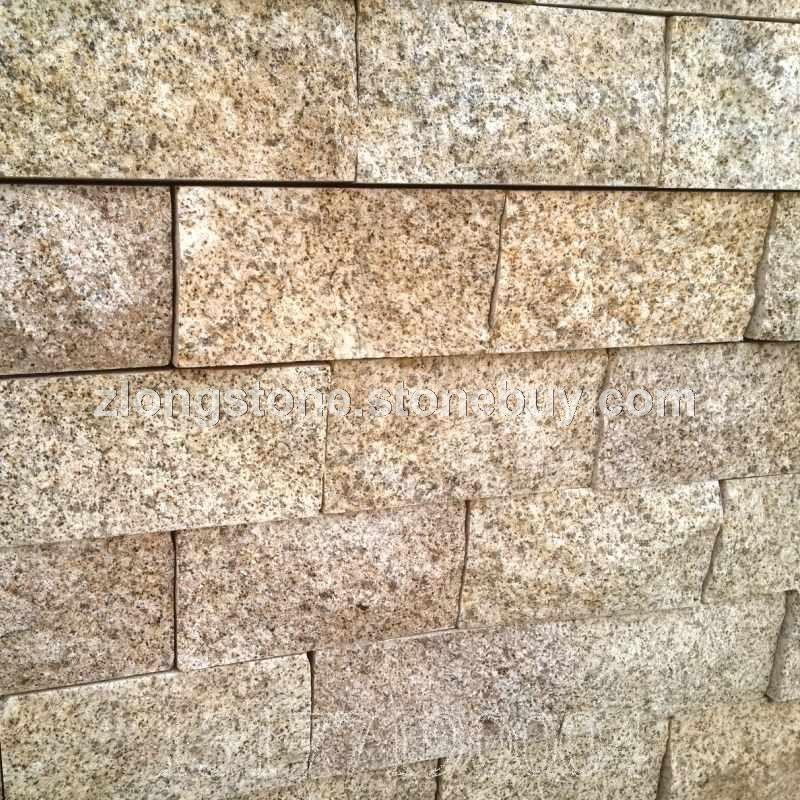 黃金麻自然面環境石材