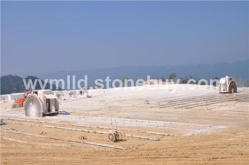 厂家直销米黄大理石【自有矿山,货源稳定】天然米黄石材荒料