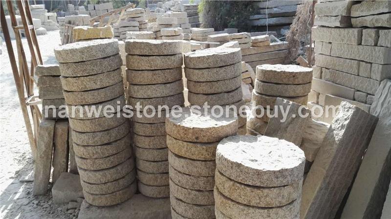小方块 蘑菇石 圆形 异形 自然面花岗岩