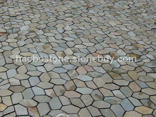 供应文化石 路沿石 踏脚石 楼梯板 台阶石 铺地石 拼花 板岩 蘑菇石