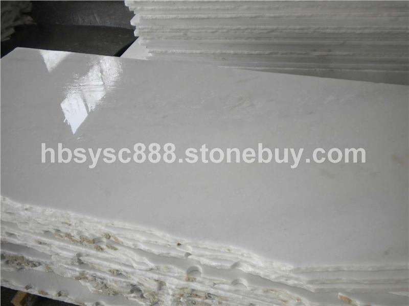 雪花白亚光面光面板岩文化石