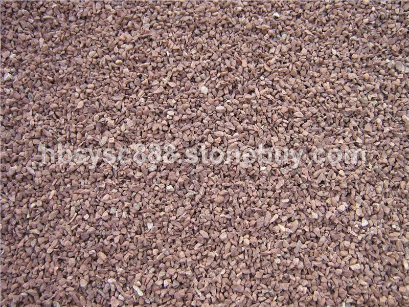 珍珠红彩砂石子