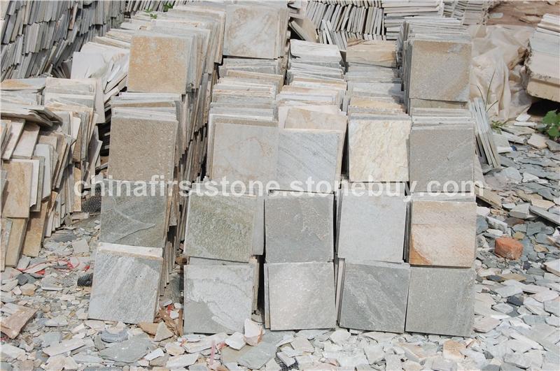 HS014锈色板岩墙地砖