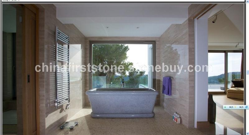 花岗岩浴缸