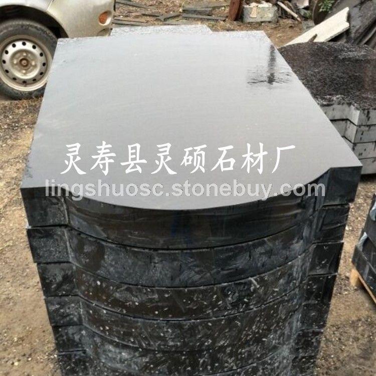 山西黑花岗岩墓碑 山西黑石材墓碑