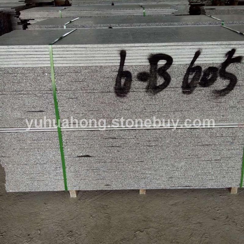 厂家直销梨花白花岗岩西丽红毛光板条板石材厂家低价促销