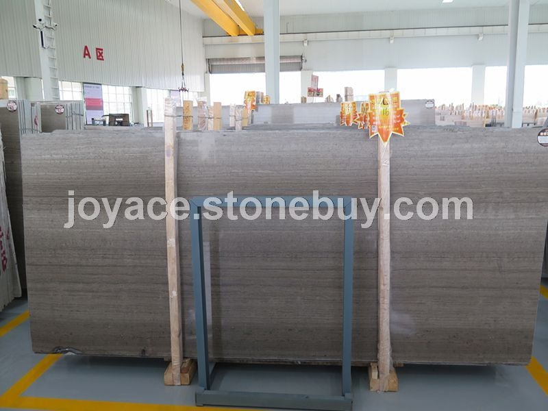 1.6cm厚灰木纹大板 水头石材厂家供应中