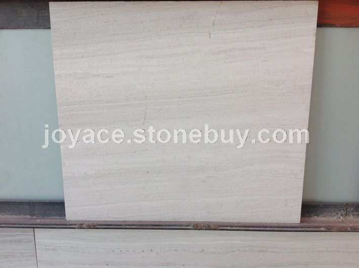 福建木纹石厂家供应白木纹薄板 喷砂面