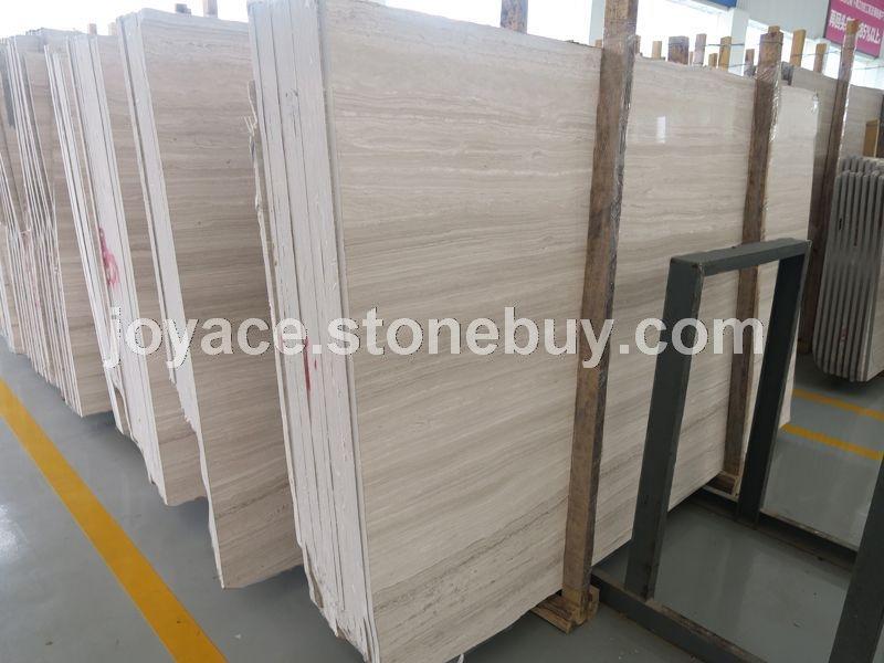 1.5米高超白底白木纹精品大板