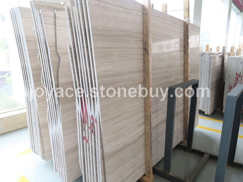 超白底白木纹正反磨大板