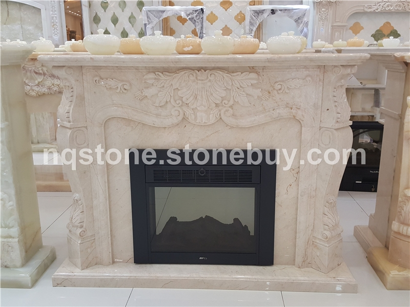F-047美尼斯金大理石壁炉架Fireplace Mantel