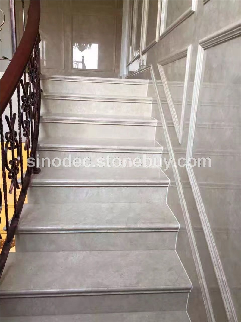 > 大理石楼梯 天然大理石台阶