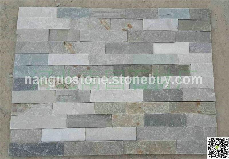 蓝灰板胶粘板 室内背景装饰石材