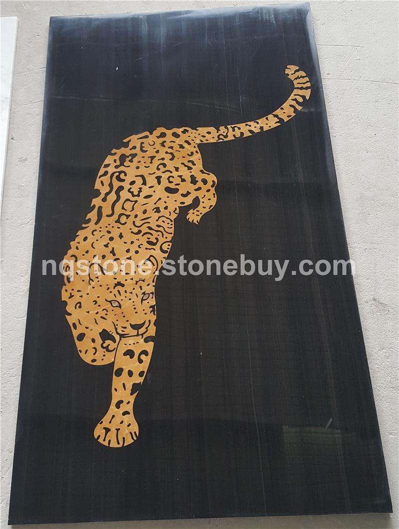 WJ-888豹子大理石水刀图